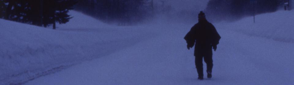ARUKU-HITO (Man Walking on Snow)